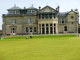 The clubhouse near the 1st tee of The Old Course. , Bruce - June 2011