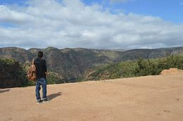 View before heading down to the waterfall , Umesh P - March 2015