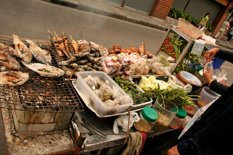 Thai street food, Khao San Road - Bangkok