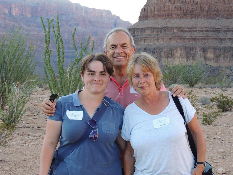 Us at the Grand Canyon - Las Vegas