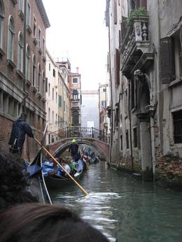 Gondola small canal. A scene you can only see from a Gondola!, Diane G - October 2010