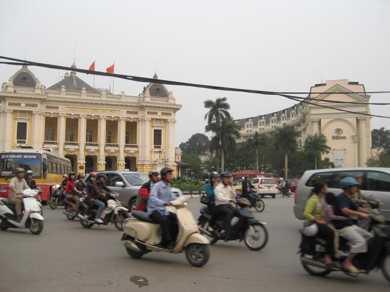 Vietnam Road Hanoi - Vietnam