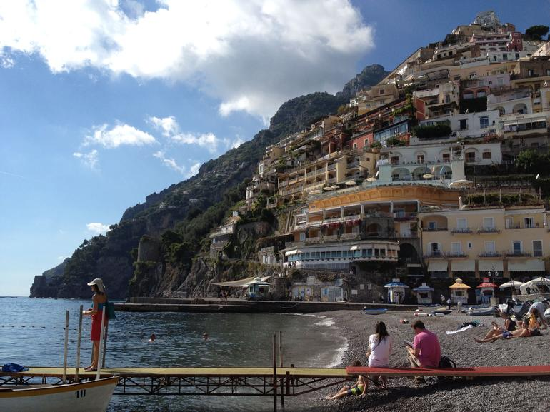 View from Positano - Rome