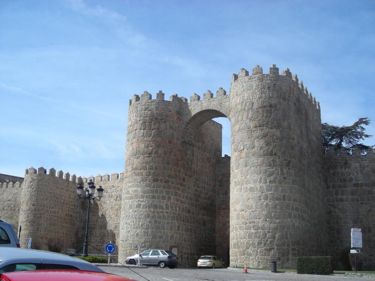Walled medieval city of Avila - Madrid