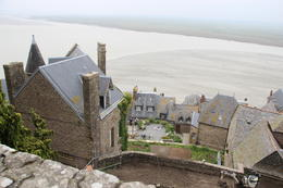 the view taken from the top of mt st michel , josevicentejrsantiago - December 2016