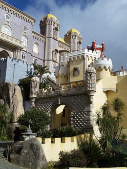 The palace at Sintra was a romantic architectural masterpiece. , sheryl i - June 2017