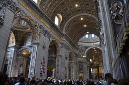 Inside St. Peter's Basilica , klumley - June 2017