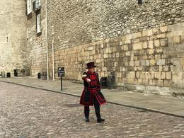 One of the Beefeater guards at the Tower of London , Kevin O - September 2017