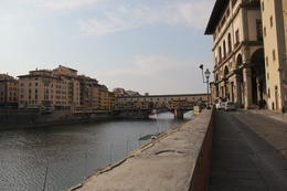 Ponte Vecchio and the river Arno , MIG - February 2012