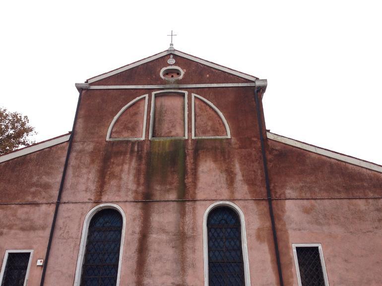 an old church in Burano - Venice