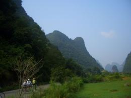 Biking along the countryside - May 2012