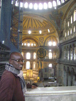 Bird's eye-view inside the Hagia Sophia Museum , Vincent K - December 2015