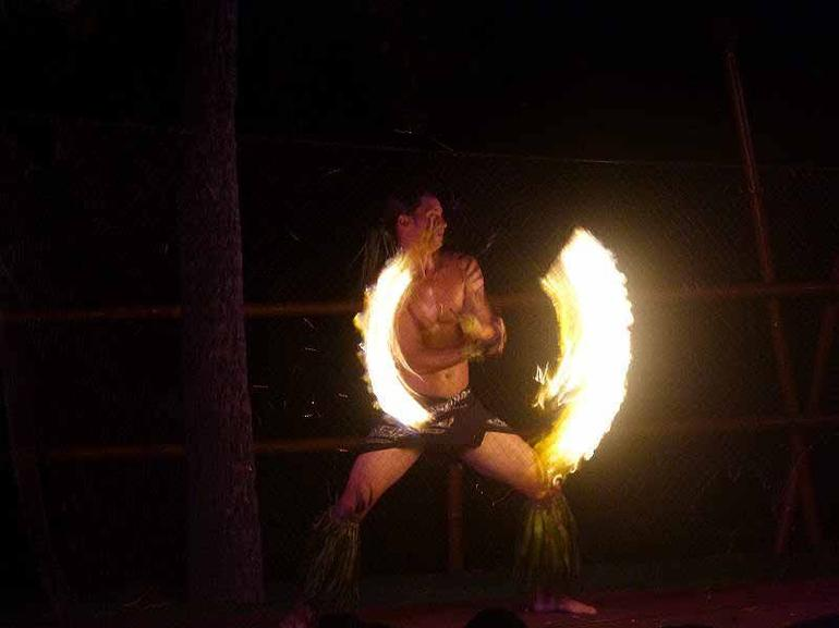 fire dancer - Big Island of Hawaii