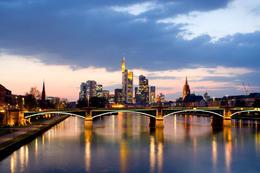 Frankfurt Skyline - August 2012