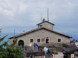 Once the meeting place for world leaders to meet, the alpine lodge is now an eatery. , Savvy Sightseer - August 2014