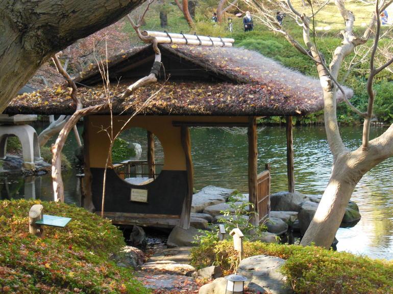Japanese Garden for Tea Ceremony - Tokyo