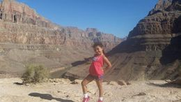 My 5 year old absolutely loved this tour. As we took off from the canyon for the return flight, she said, Mommy, I just wanted you to know that that was the COOLEST THING EVER! , marjorie s - June 2016