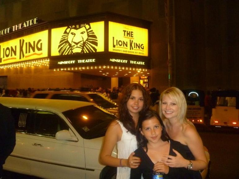 The Lion King on Broadway - New York City