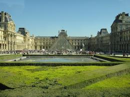 Louvre museum in Paris... the queue was crazy :) , Trina S - October 2012