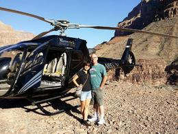 David and Lin Gladwell sharing the experience of a lifetime at the Grand Canyon. , David G - October 2014