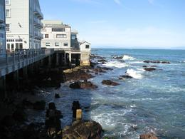 The ocean side of the Monterey Aquarium where we watched wild otters playing in the surf., Allan S - March 2010