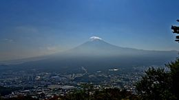 We were lucky: just a small cloud covering the top of the Fujiyama. , JOSE MARIA M - November 2015