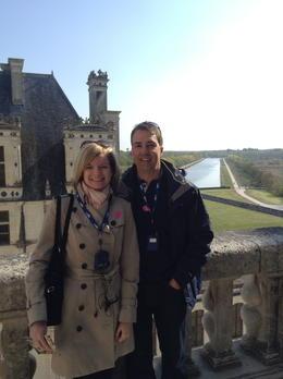 Cheryl and MIchael, enjoying the view , Cheryl M - April 2014