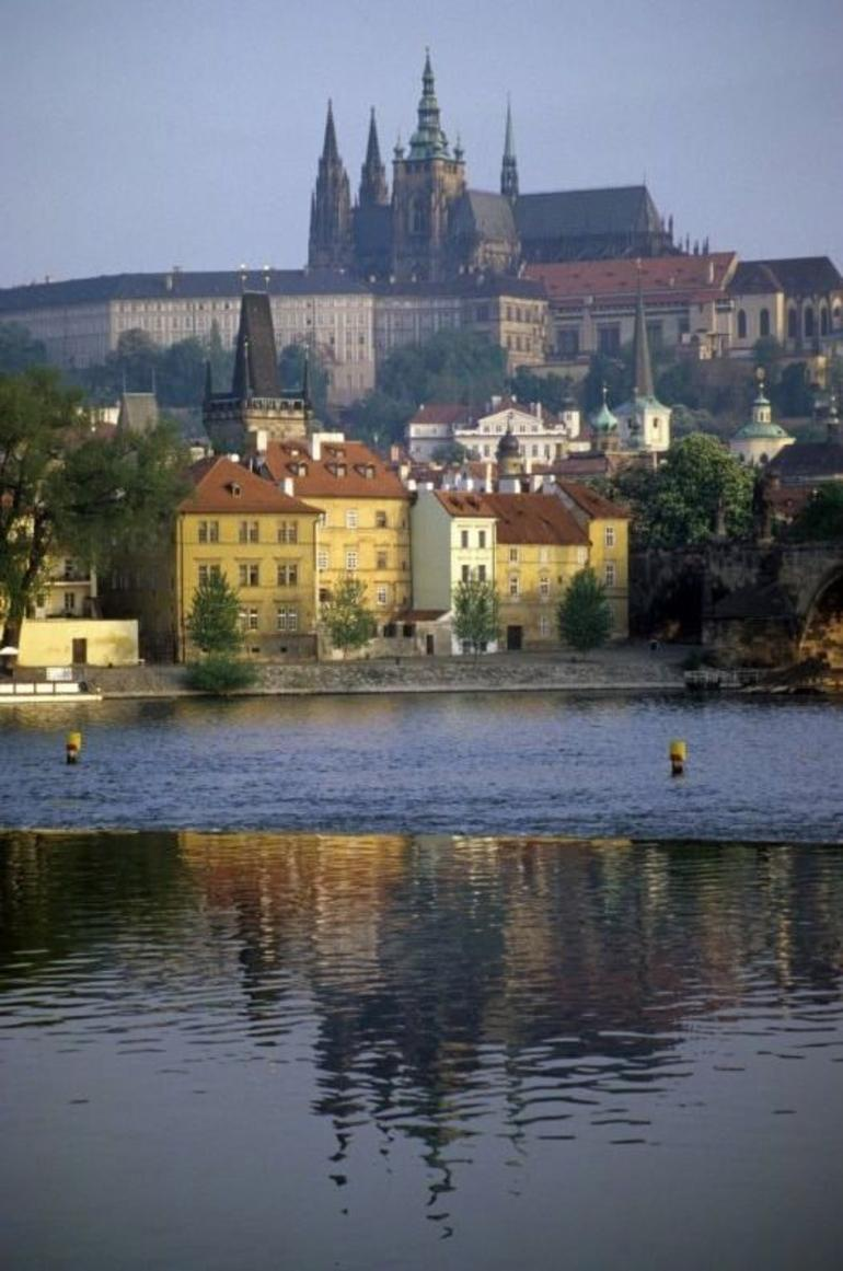 Prague - View from the River - Prague