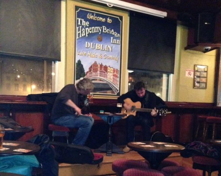 Pub Crawl Musicians - Dublin