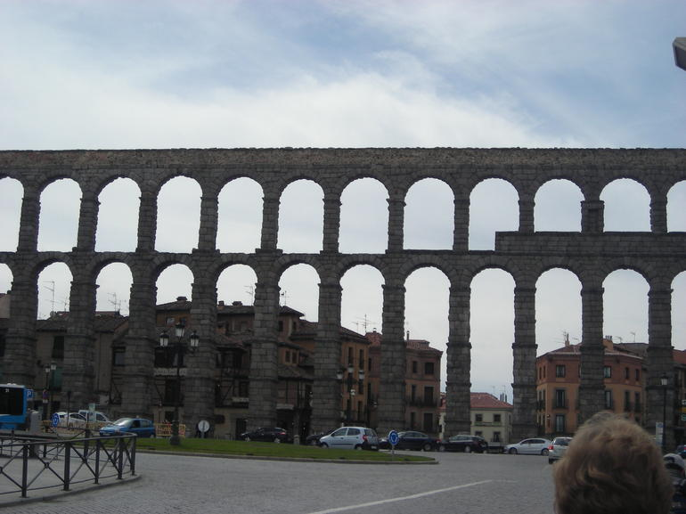 Roman aqueduct of Segovia - Madrid