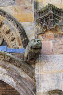 One of many gargoyles, no two are alike. , Destini K - November 2012