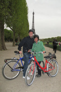 We loved riding through the city, seeing favorite spots from our bikes! , Kristin C - May 2013