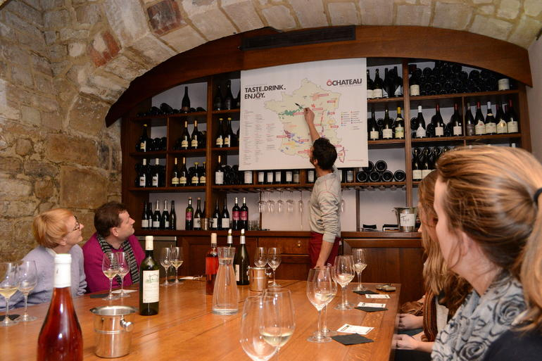Paris French Wine Tasting in Elegant Bar with Lunch & Champagne Options photo 28