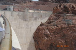 The Hoover Dam - October 2011