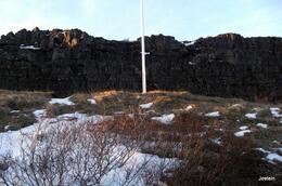 Thingvellir med høyden der Lovoppleseren leste opp lovene. , Jostein S - January 2014