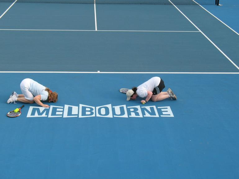 We love tennis! - Melbourne
