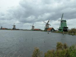 We even visited a windmill (own expense) while at Zaanse Schans., MIRAN S - October 2008