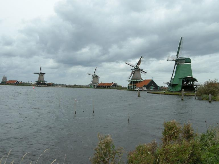 Windmills, Zaanse Schans - Amsterdam