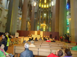 Another gorgeous photo of the inside of Sagrada. , Jane B - November 2016