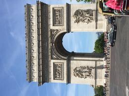 The Arc de Triomphe from the front , Rick G - May 2017