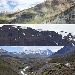 Beautiful mountain ranges , sjorsbos - October 2017