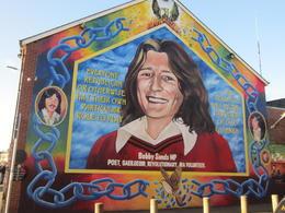 Bobby Sands mural in Belfast , Tim E - February 2018