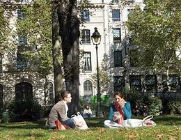 picnic, square louis XVI, boulevard haussman, T j W - October 2010