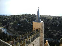 View from top of Alcazar, Segovia , Kate H - April 2012