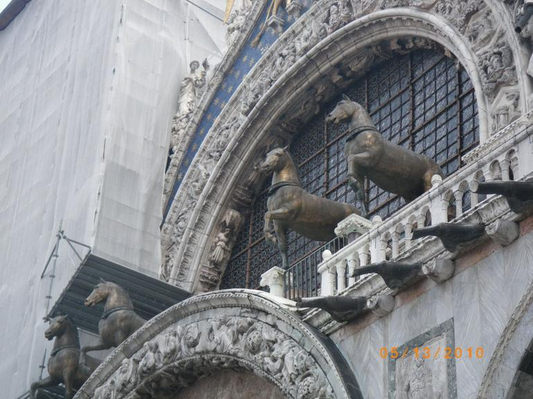 Brass horses at San Marco Cathedral - Venice