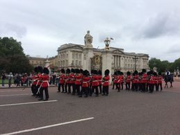 Jessie, our Tour Guide, got us to a 'special view spot' at the Buckingham Palace in plenty of time to watch the Changing of the Guards. Thank you Jessie! , Debora M - July 2016