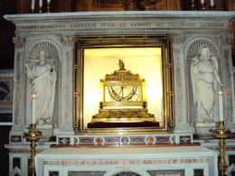 The chains place on Saint Peter as he was led to his crufixion. , texasbob - November 2012