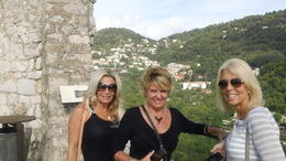 The girls in Eze , Connie B - October 2012
