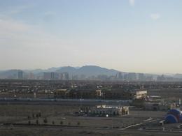 Views of the Las Vegas Strip at early morning, Cutie Repolinos - April 2013