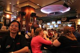 Hard Rock Cafe Barcelona Is a good place to have a great dinner. , Chan KW & SM San - July 2011